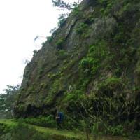Od południa wzdłuż lewady prowadzi bardzo szeroka i wygodna droga. Poza fragmentami pokonywanymi w tunelu.