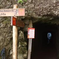 Pierwszy tunel i rozdroże.