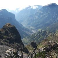 Curral das Freiras w dnie doliny