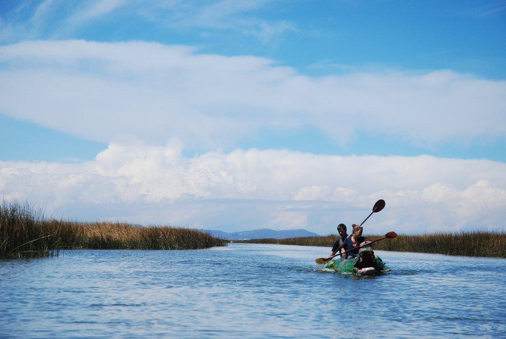 Titicaca kajakiem