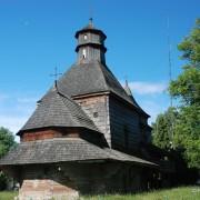 Jedna z dwóch wspaniałych drohobyckich cerkwii.