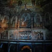 Ukryty ikonostas w cerkwii św. Jura.