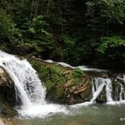 Wodospad w dolinie Kamianki.