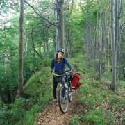 Z rowerami na Sninski Kamen.