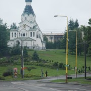 Cerkiew w Medzilaborcach.