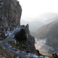 Najbardziej znane miejsce na trasie na szczyt.