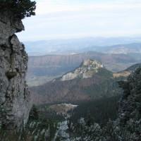 Mały Rozsutec jest również uroczy choć niemal 300 metrów niższy.