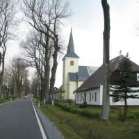 Rejviz, zajwyżej położna wieś w obrębie historycznego śląska.