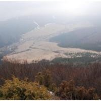 Widok z Dutej Skaly na Vricko.