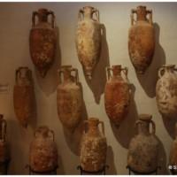 Muzeum Archeologiczne w Vittorii (Rabat) - rzymskie amfory.