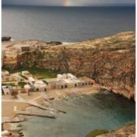 Najpiękniejszy widok na Gozo - zachodnie wybrzeże.