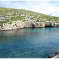 Mġarr ix-Xini (czyt. Mdżarr isz szini) znad wody.