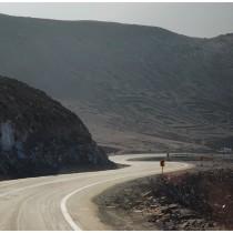 Petroglify w drodze do Arici