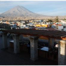 Volcan El Misti, niemal sześciotysięcznik.
