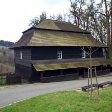 Ewangelicki kościół w drodze z Vsetina.