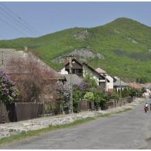 Wulkaniczne stoki nad Pusztafalu.