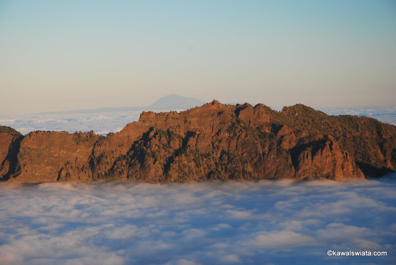 Pico del Teide oraz grań Caldera de Taburiente