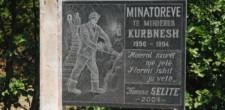 Pomnik ku pamięci górników z czasów reżimu.