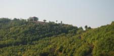 Tradycyjny dom - twierdza. Po albańsku Kulla.