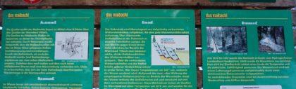 Maibachl, dzikie gorące źródła koło Villach