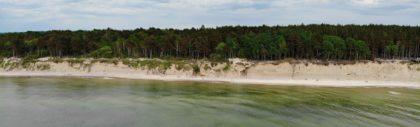 Litewskie wybrzeże Bałtyku