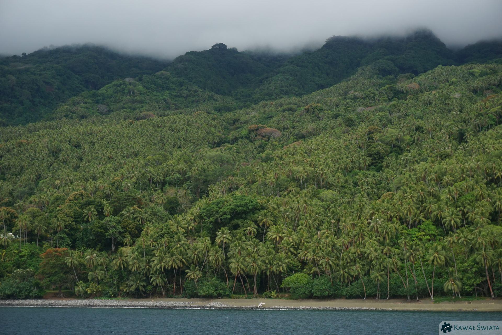 wybrzeże Ambae
